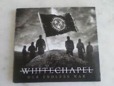 CD WHITECHAPEL Our endless war DEATH THRASH METALCORE TRASH HEAVY METAL