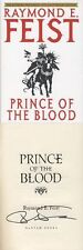 Raymond Feist SIGNED AUTOGRAPHED Prince of the Blood HC 15th Anniversary 1st Ed
