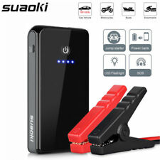 Suaoki 12V 8000mAh Car Jump Starter Emergency Booster Charger Battery Power Bank