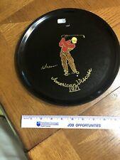 Golfer Plate 1971 American Viscose