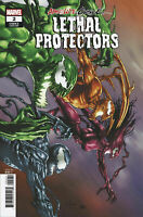 ABSOLUTE CARNAGE LETHAL PROTECTORS #2 MARVEL 1:25 SUAYAN CODEX VARIANT