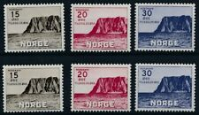[56633] Norway 1943 2x good set MNH Very Fine stamps