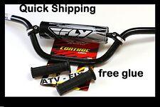 yamaha 660 raptor handlebars fly racing aluminum bar hand grips grip glue black