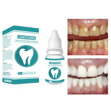 10ML Teeth Whitening Essence Plaque Stains Remove Hygiene Cleaning Oral Care New