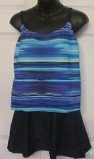 Indigo Bay 1 pc Swimwear Blue Swimsuit Size 12