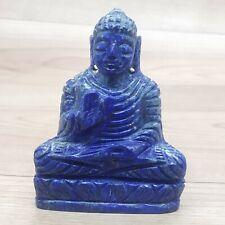 Buddha Statue Lapis Lazuli Stone Lotus Buddha Statue meditation Feng Shui Buddha