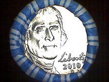 2010- D Jefferson Nickel Roll.40 B. U .Gem Bu. Coins Head/ Tail Roll.