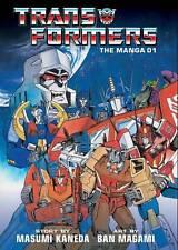 Transformers Manga Volume 1 Hardcover Manga GN Masumi Kaneda Ban Magami New Mint
