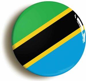TANZANIA TANZANIAN NATIONAL FLAG BADGE BUTTON PIN