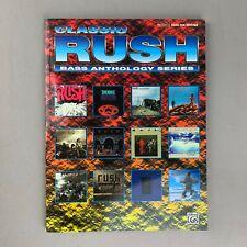 Classic Rush Bass Anthology Series BASS Guitar Tab Book Sheet Music