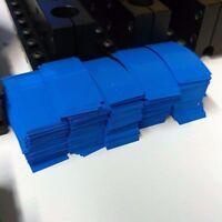 500 pcs Pre-Cut 18650 Lithium Battery BLUE, PVC Heat Shrink Wraps Vape