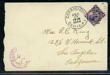 PHILIPPINES Postal History 1918 Censored CAVITE - LOS ANGELES $$$