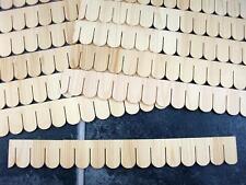 Puppenhaus Pack Of 12 Miniatur Fischschuppen Kies Streifen Bedachung Fliesen