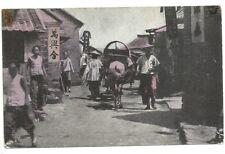 Postcard China Chefoo Yi-Ho River Antique Hand Colored
