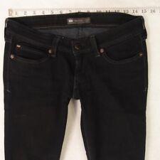 Ladies Womens Levis SLIGHT CURVE SKINNY Stretch Blue Jeans W29 L30 UK Size 10