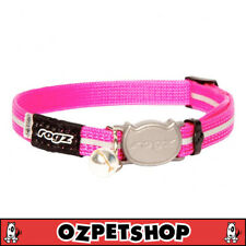 Rogz Alleycat Safeloc Collar Pink 11mm