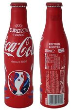 Coca Cola UEFA EM EURO 2016 Alu-Flasche Coke Bottle France Frankreich Portugal