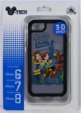 Disney Toy Story Woody Jessie Bullet 3-D Apple Iphone 6S/7/8 Cellphone Case NEW