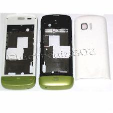Fascia Housing Back Battery Cover Keypad For Nokia C5 03 C5-03 Green / White UK