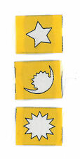SCOUTS OF NEPAL - NEPALESE CUB SCOUT (CS) RANK AWARD PATCH SET OF 3