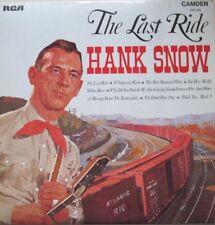 HANK SNOW - THE LAST RIDE - LP