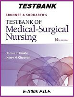 Brunner and Suddarth's Medical Surgical Nursing 14th Edition TESTBANK