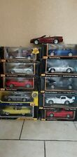 Assorted Maisto car lot New in Box
