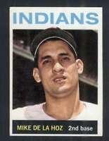 1964 Topps #216 Mike de la Hoz EX/EX+ Indians 53668