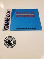 Super R.C pro-AM - gameboy - nintendo - notice UKV