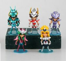 SAINT SEIYA - SET 5 CABALLEROS DE BRONCE Q VERSION PEGASO DRAGON 10 CM