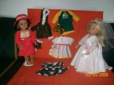 "American Girl - 18"" doll clothes - 6 cute outfits 1 low price"