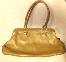HOBO INTERNATIONAL Pale Gold Leather Purse/Handbag