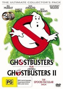 Ghostbusters / Ghostbusters II (DVD, 2005, 2-Disc Set)