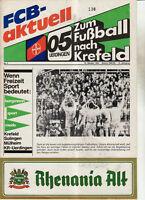 BL 84/85 Bayer 05 Uerdingen - FC Schalke 04