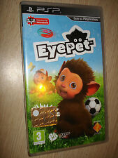 GAME PSP EYEPET VIDEO GAME IN ITALIAN AS NEW ONLY DISCARDED