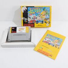Street Racer En Caja Y Manual-Buen Estado-Super Nintendo SNES juego PAL