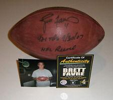 PACKERS Brett Favre signed NFL football w/ 421 TDs NFL Record COA AUTO LE /421