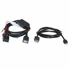 Audio Input Adapter For Ford 6000CD For iPod iPhone iPad With Data Cable