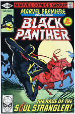 MARVEL PREMIERE 53 featuring THE BLACK PANTHER 1980 FRANK MILLER cover art