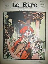 LE RIRE N° 269 CARICATURE HUMOUR DESSINS MORIN CARDONA BLIX HEMARD DELAW 1908