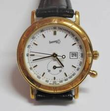 Eberhard & Co. Solid Gold 18K White Dial Ladies Quartz Watch (TP051)