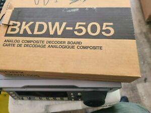 Sony BKDW-505 Analog Composite Input Board Sony DVW-A500 part# A-8275-165-A