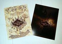 Marauder's Map Hogwarts Wizarding World Harry Potter Warner Bros LIMITED **NEW*