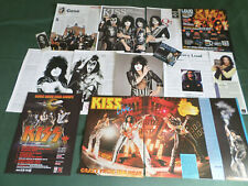 KISS  -  ROCK BAND - CLIPPINGS / CUTTINGS PACK