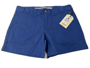 Burton Durable Goods Womens True Blue WB Loco Shorts Pockets Size 27