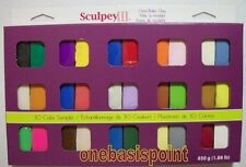 Sculpey III Polymer Oven Bake Clay 30 1 oz Block Sampler NEW