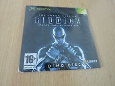 The Chronicles of Riddick Demo new xbox pal