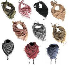 100% Cotton Shemagh HeadScarf  - Military Desert Keffiyeh Arab Army Wrap