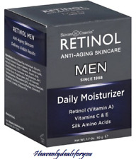 NIB sealed Skincare Cosmetics Retinol Daily Moisturizer for Men, 1.7fl.oz./50g