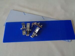 CLASSIC AND KIT CAR BLUE PERSPEX SUNVISOR KIT WITH FRICTION HINGES